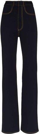 Alled Martínez High-Waisted Jeans