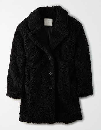 AE Fuzzy Sherpa Coat