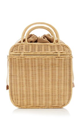 Onie Wicker Top-Handle Bag by KAYU | Moda Operandi