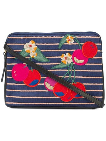Lizzie Fortunato Jewels Cherry Patch Clutch Bag