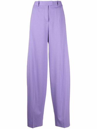The Attico high-waisted wide-leg Trousers - Farfetch