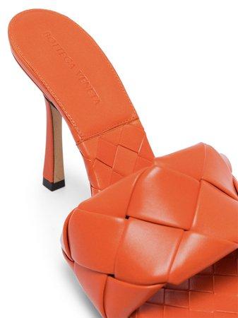 Bottega Veneta BV Lido Intrecciato Sandals - Farfetch