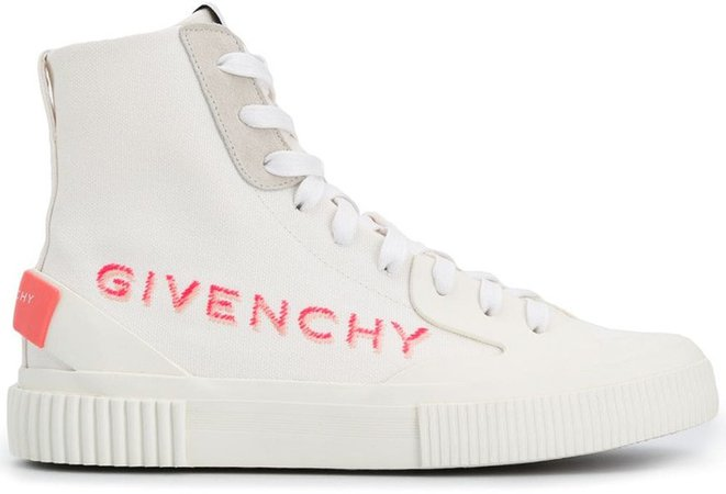 High-Top Tennis Sneakers