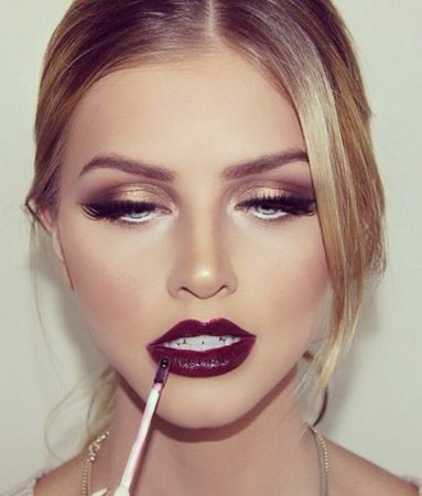 Hair and Makeup Ideas for your next Holiday Party! - Fancy Face Inc.