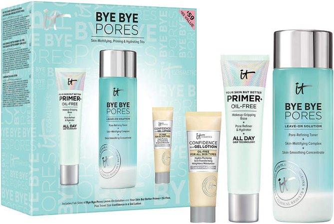 Bye Bye Pores Skin-Mattifying, Priming & Hydrating Trio