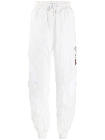 Fila Wrinkled Logo Track Pants - Farfetch