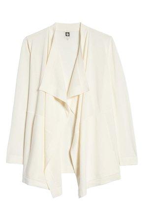 Anne Klein Drape Front Pocket Cardigan | Nordstrom