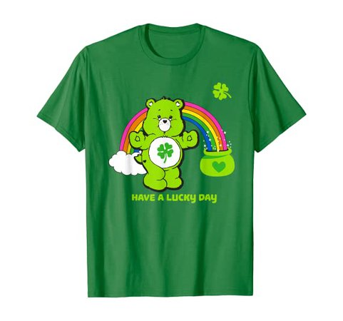 Amazon.com: Care Bears Have a Lucky Day T-Shirt: Clothing