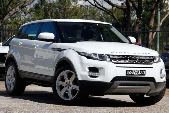 Land Rover Range Rover Evoque car