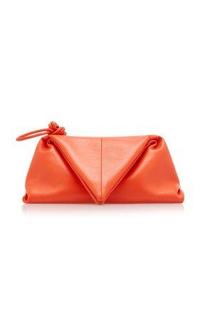Triangle Leather Pouch by Bottega Veneta | Moda Operandi