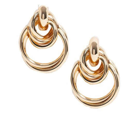 ASOS gold earrings