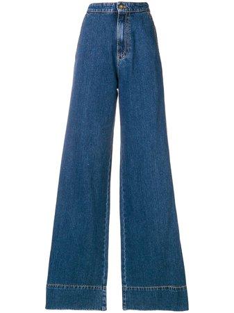 Loewe Cala Jeans Flare - Farfetch