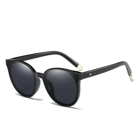 2018 Fashion Women Colour Luxury Flat Top Cat Eye Sunglasses Elegant oculos de sol men Twin Beam oversized Sun glasses UV400 - Ledies Hot Were