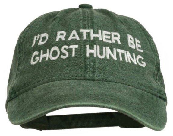 ghost cap