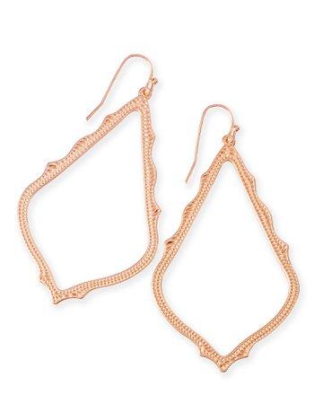 Sophee Drop Earrings in Rose Gold   Jewelry   Kendra Scott