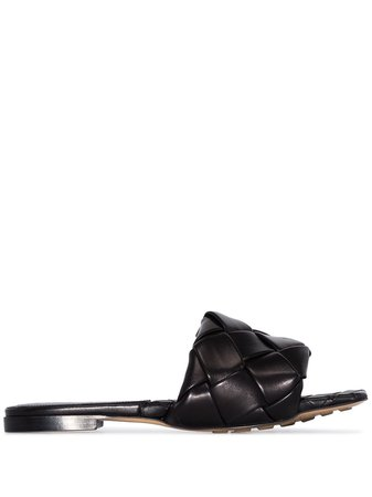 Bottega Veneta flat woven sandals - FARFETCH