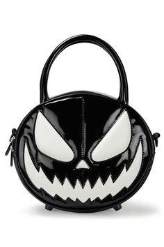 Halloween Leather Handbag Goth Emo Alternative Grunge