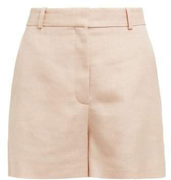 Tailored Twill Shorts - Womens - Light Pink