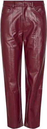 ROTATE Rotie High-Rise Vinyl Pants