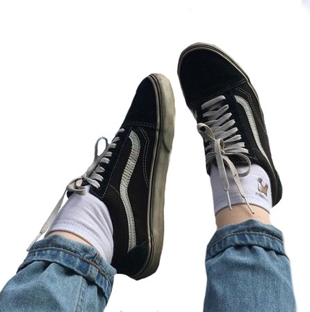 png shoes aesthetic vans and jeans