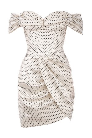 *clipped by @luci-her* 'Alessia' Polka Dot Corset Dress