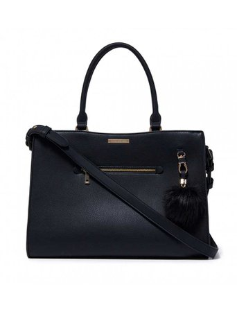 Miranda Laptop Bag - Black