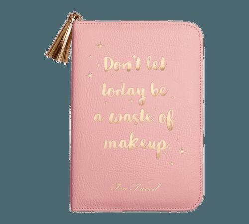 Sephora Christmas 2017 Leatherette Agenda