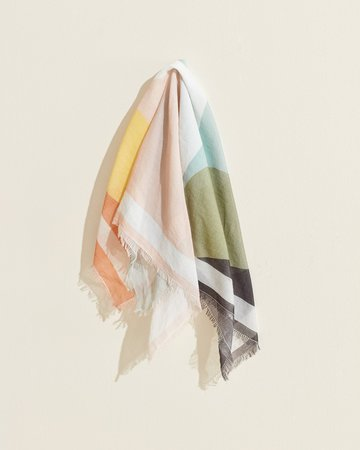 Women's Sheer Printed Scarf by UpWest