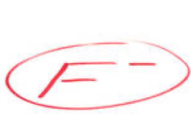 Failed mark