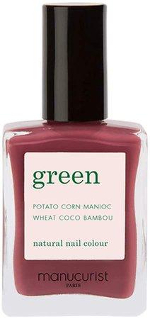 Green Nail Lacquer - Victoria Plum