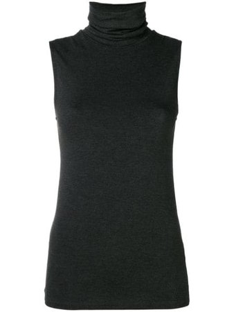 Majestic Filatures turtleneck tank $111 - Buy AW18 Online - Fast Global Delivery, Price