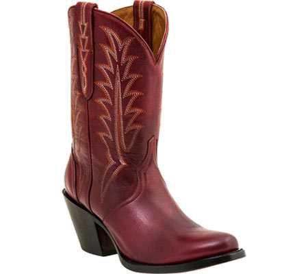 maroon cowboy boots