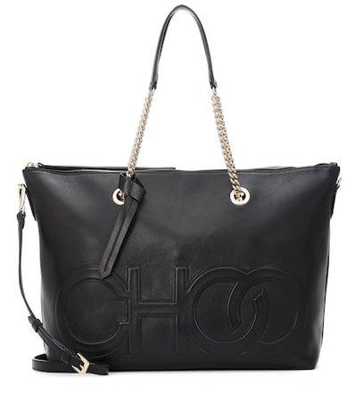 Allegra leather tote