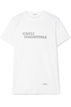 BLOUSE | Simply Irresistible printed cotton-jersey T-shirt | NET-A-PORTER.COM