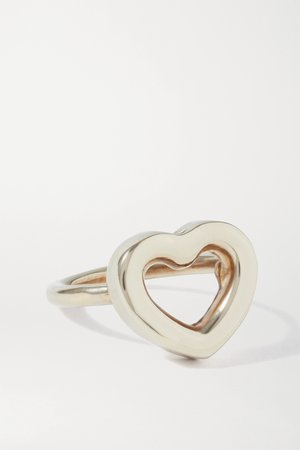 Gold Cuore gold-tone ring | Laura Lombardi | NET-A-PORTER