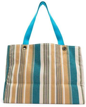 Amir Slama cotton beach tote bag