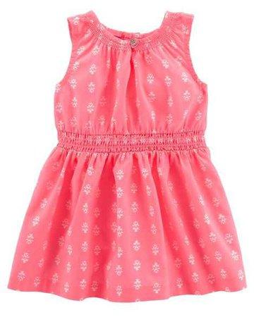 Baby Girl Sleeveless Woven Dress | Carters.com
