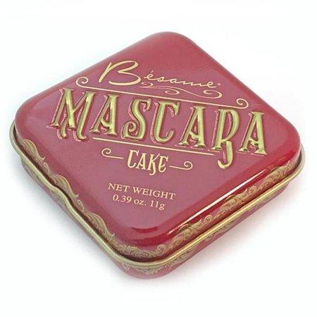 Black Cake Mascara   Where Timeless Elegance Meets Modern Beauty – Besame Cosmetics