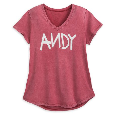 Andy T-Shirt for Women - Toy Story | shopDisney
