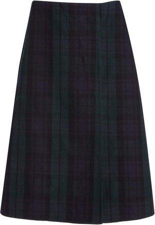 Marc Jacobs Tartan Knee-Length Skirt