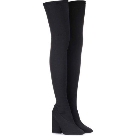 Yeezy Over-the-Knee Stretch Boots (SEASON 4) ($565)