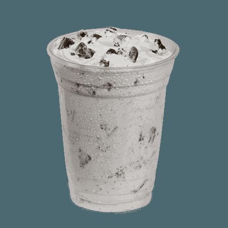 Oreo Cookie Ice Cream Shake: Oreo Carvelanche