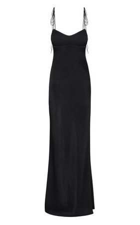 Paris Open Back Satin Maxi Dress By Anna October | Moda Operandi