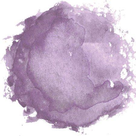Lavender Watercolor Blot