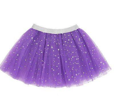 Halloween Purple Star Tutu Skirt -31760