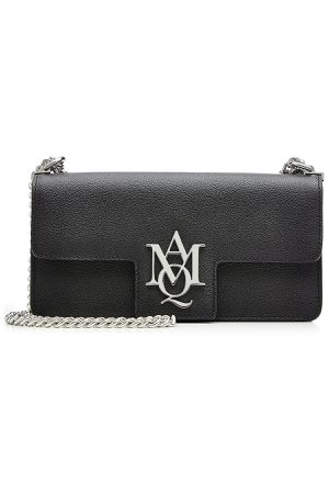 Leather Insignia Clutch Satchel Gr. One Size