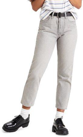 501 High Waist Crop Jeans