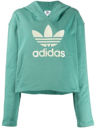 Adidas Logo Hoodie - Farfetch