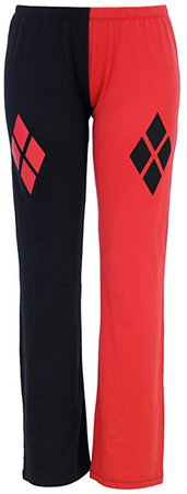 DC Comics Suicide Squad Harley Quinn Lounge Pants (Small) at Amazon Women's Clothing store