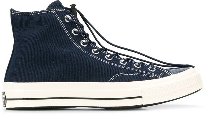 drawstring lace Chuck Taylor sneakers